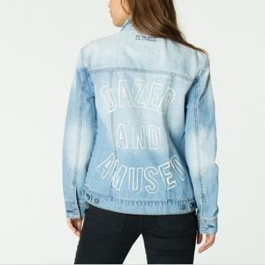 4th and Bleeker for Billabong light denim jacket